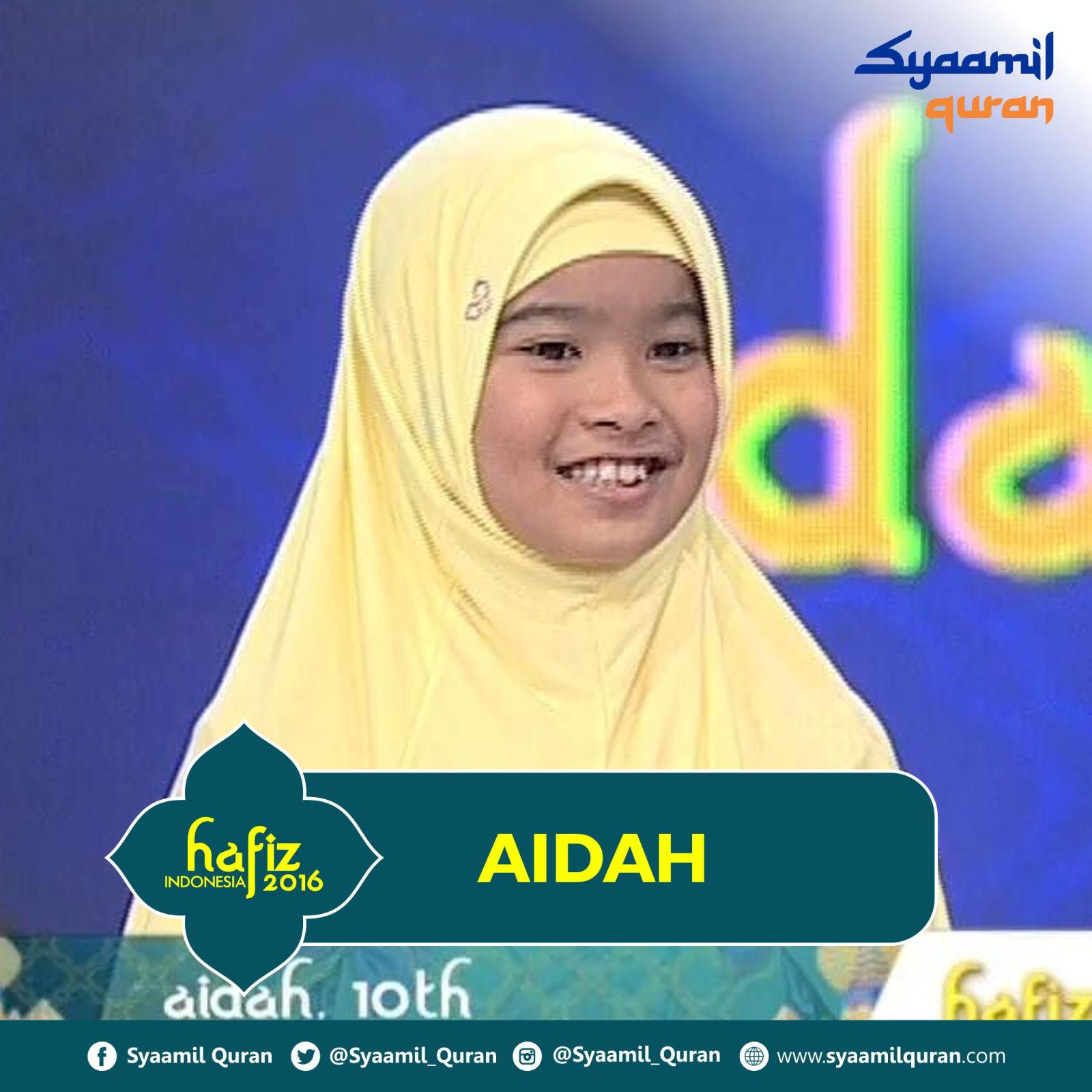 Aidah Hafiz Indonesia 2016