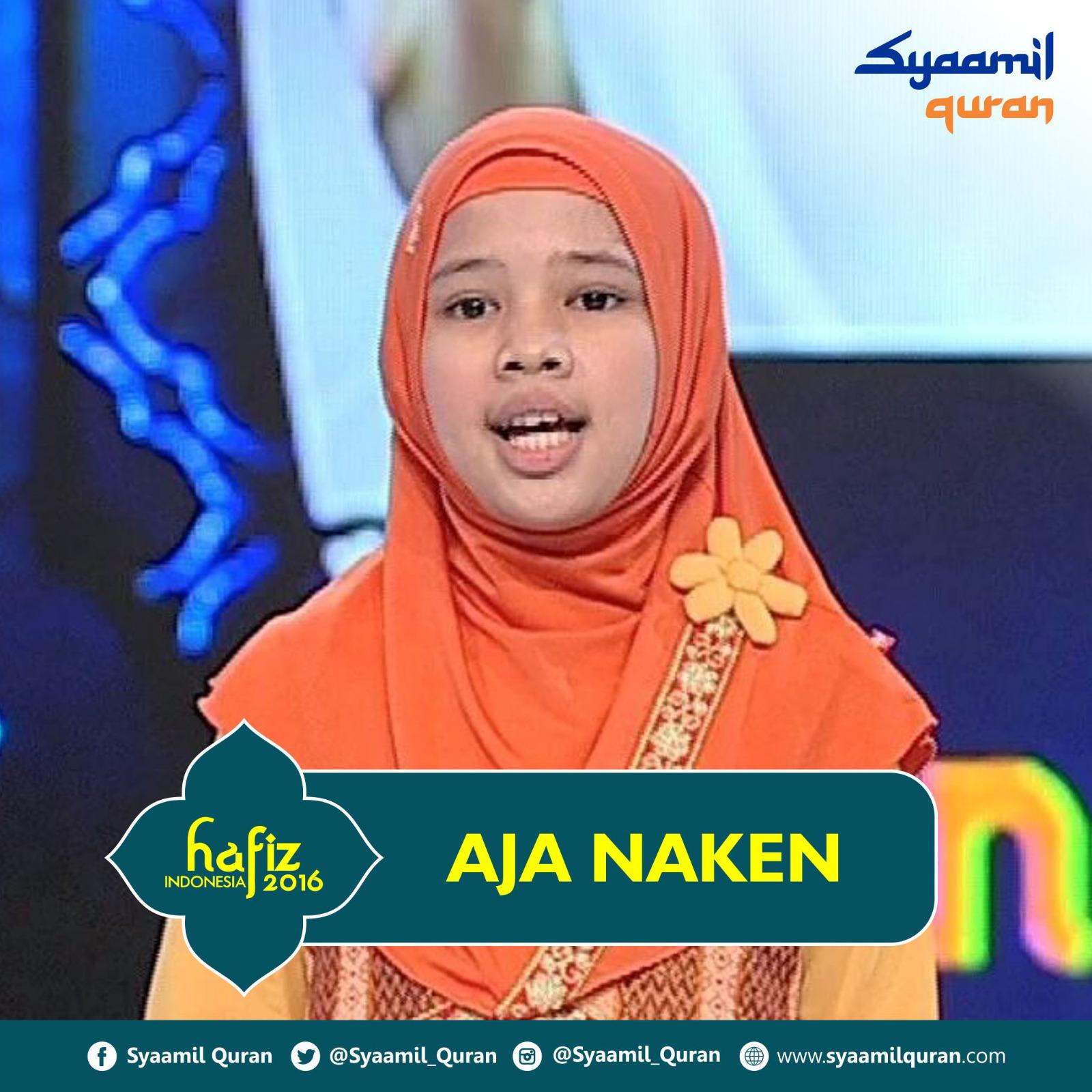 Aja Naken - Hafiz Indonesia 2016