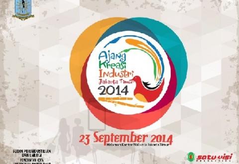Ajang Kreasi Industri Jakarta Timur 2014