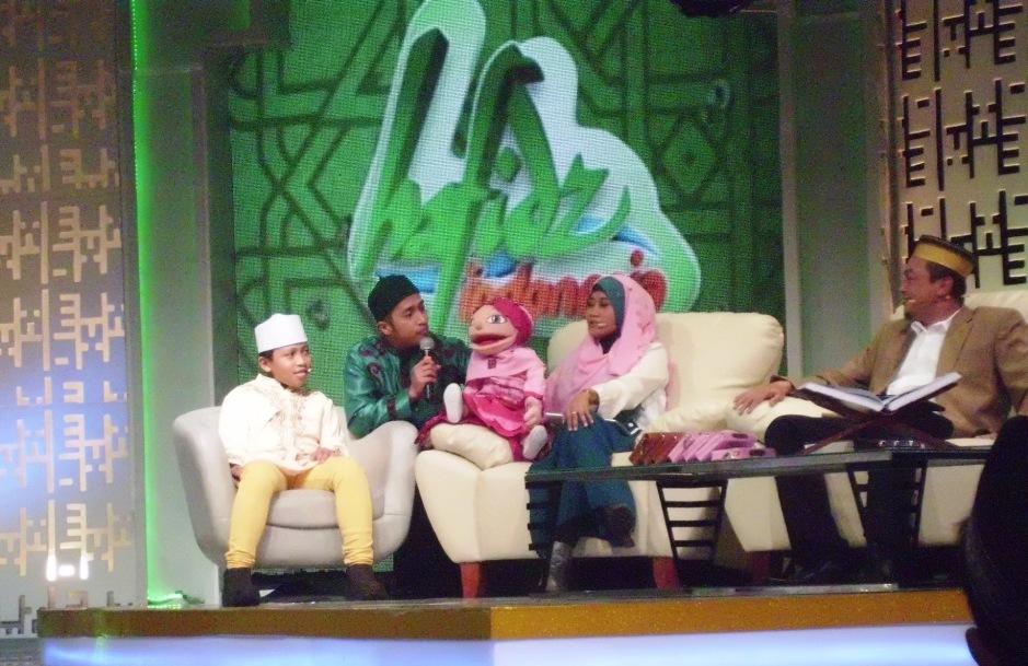 Alvin Hafidz Cilik dalam program Hafidz Indonesia RCTI