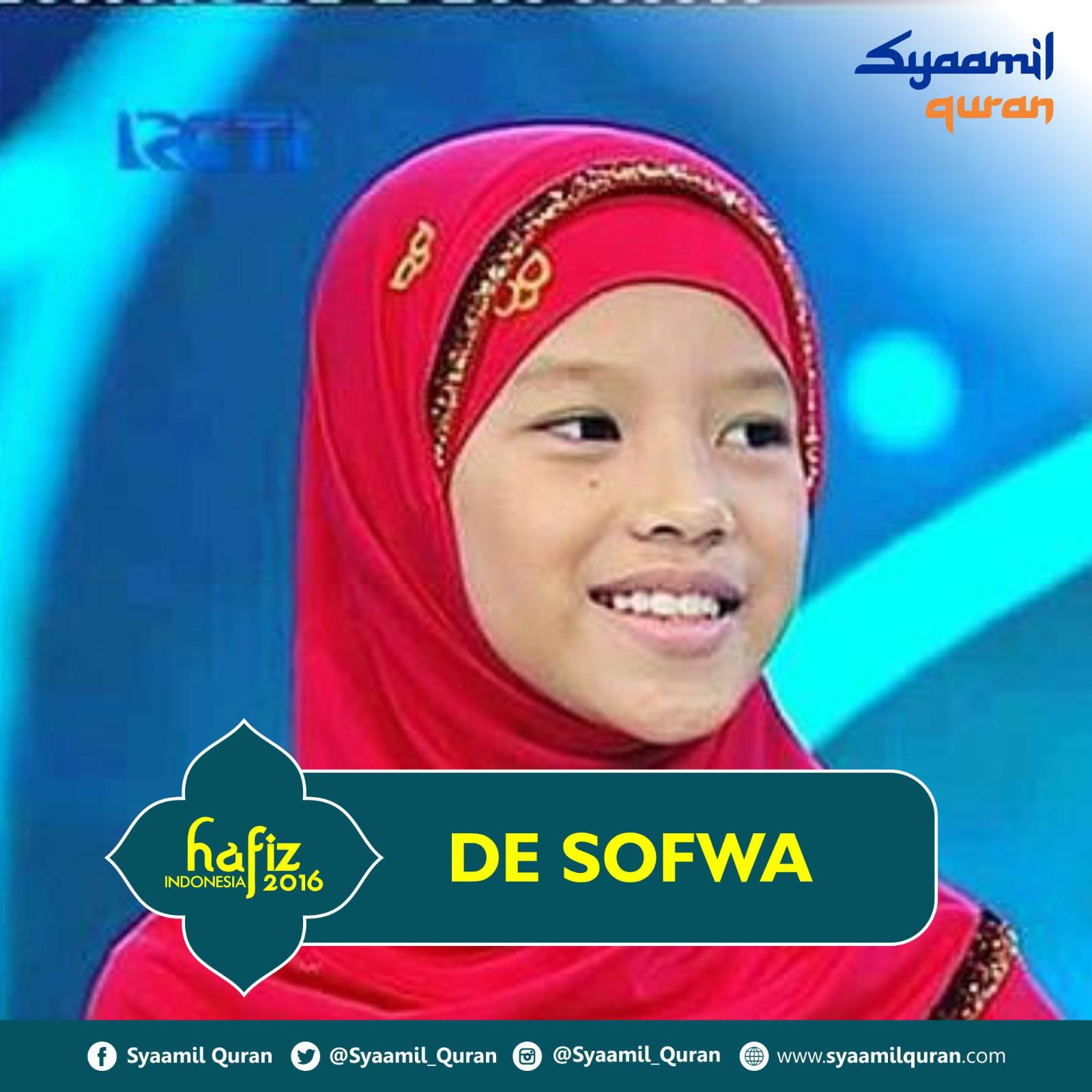 De Sofwa - Hafiz Indonesia 2016