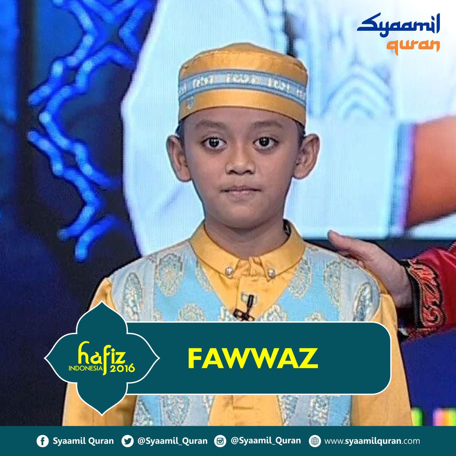 Fawwaz - Hafiz Indonesia 2016