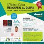 Jakarta Siap Menggelar Pelatihan Akbar Tikrar