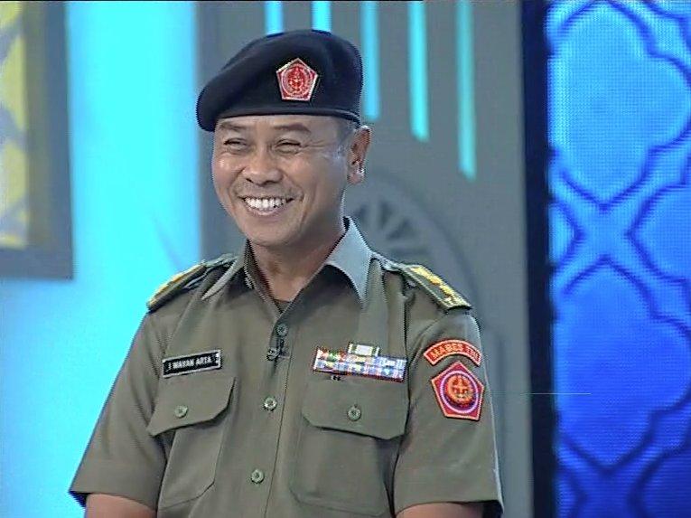 Letkol I Wayan Arta - TNI AD yang Hafal 5 Juz Al-Quran