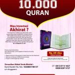 POSTER WAKAF 1000 QURAN-ALQUDS COMMUNITU