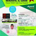 Pelatihan Akbar Tikrar Akan Digelar di Jakarta