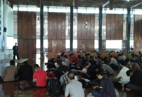 Pelatihan Tikrar di Mesjid Salman ITB Bandung