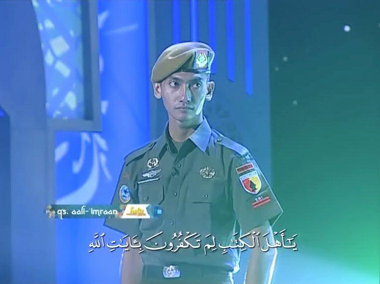 Pratu Faishol Yanuar - TNI yang hafal Quran 12 Juz