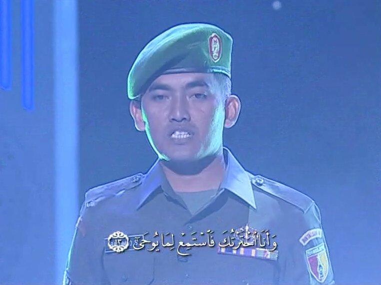 Serda Rachmat Sholeh - TNI yang Hafal Quran 30 Juz.