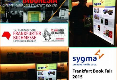 Sygma CMC Hadir di Frankfurt Book Fair 2015